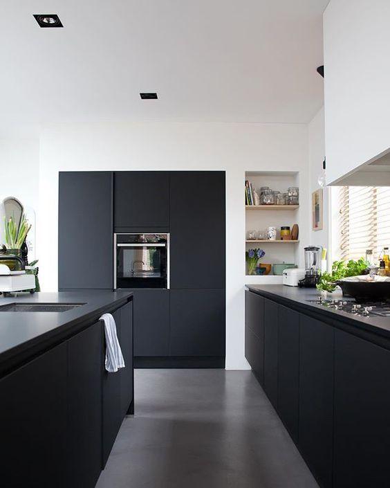 Black Kitchen Ideas 13