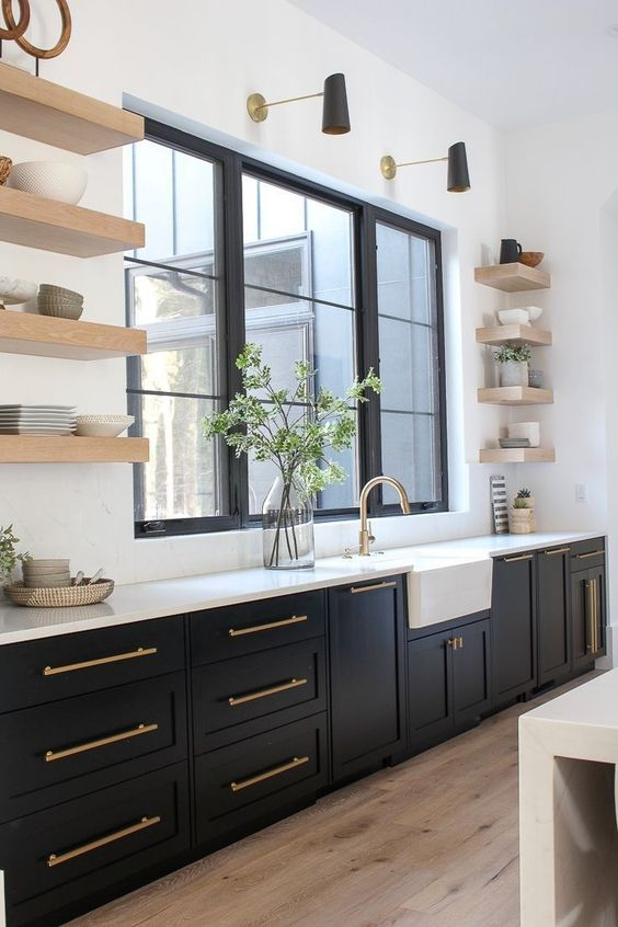 Black Kitchen Ideas 14