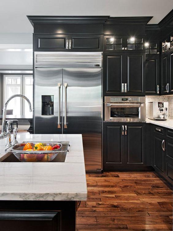 Black Kitchen Ideas 20
