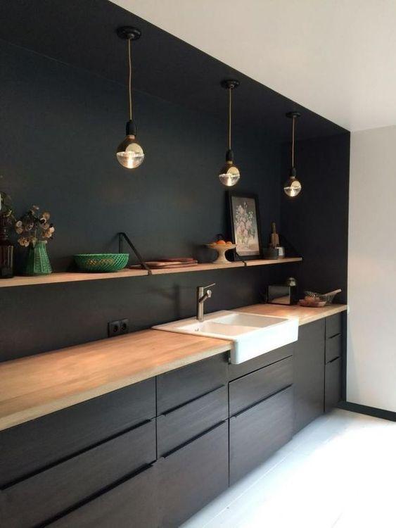 Black Kitchen Ideas: Stylish Elegant Decor