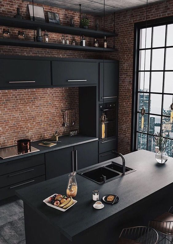 Black Kitchen Ideas 25 Uniquely Fascinating Decor To Steal