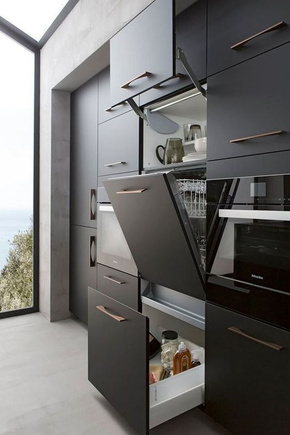 Black Kitchen Ideas 7