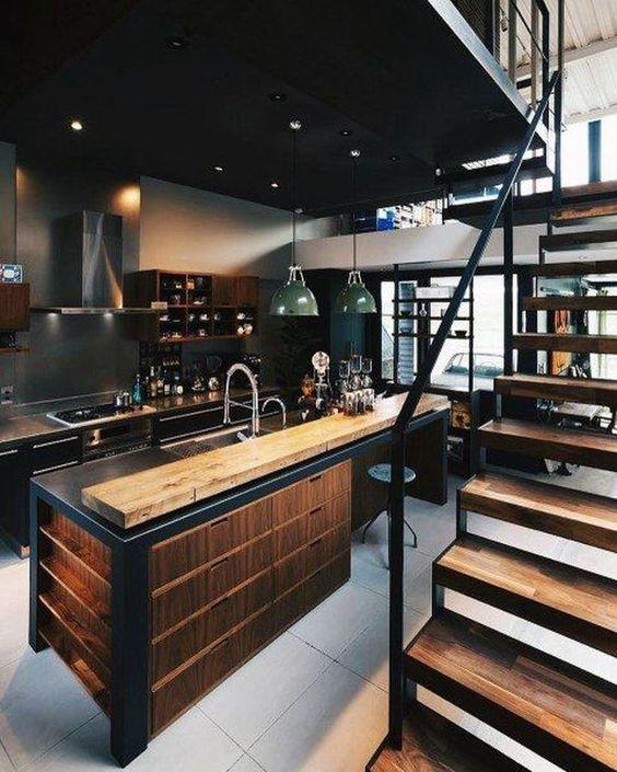 Black Kitchen Ideas 9