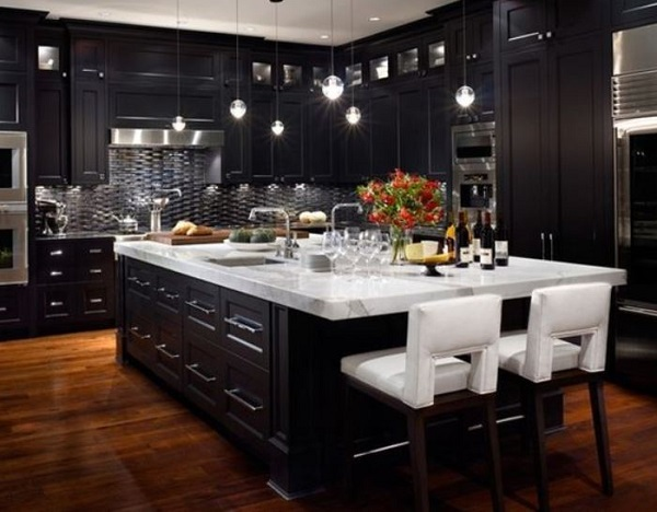 Black Kitchen Ideas feature
