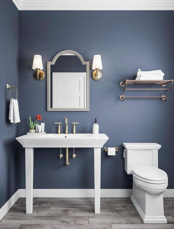 Blue Bathroom Ideas 10