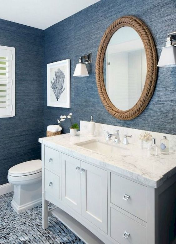 Blue Bathroom Ideas 11