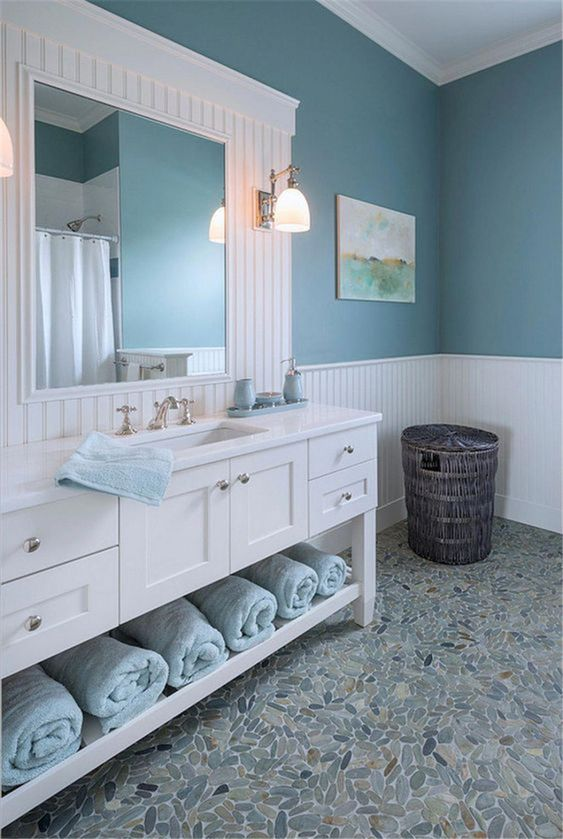 Blue Bathroom Ideas 12
