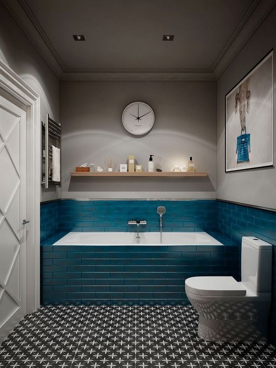 Blue Bathroom Ideas 14
