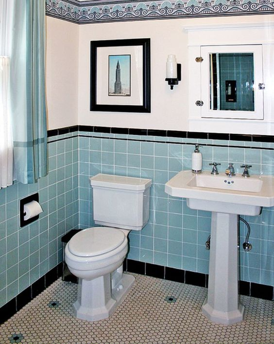 Blue Bathroom Ideas 15