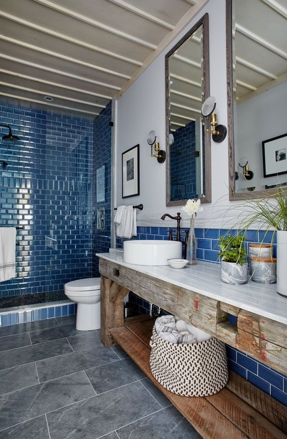 Blue Bathroom Ideas 18
