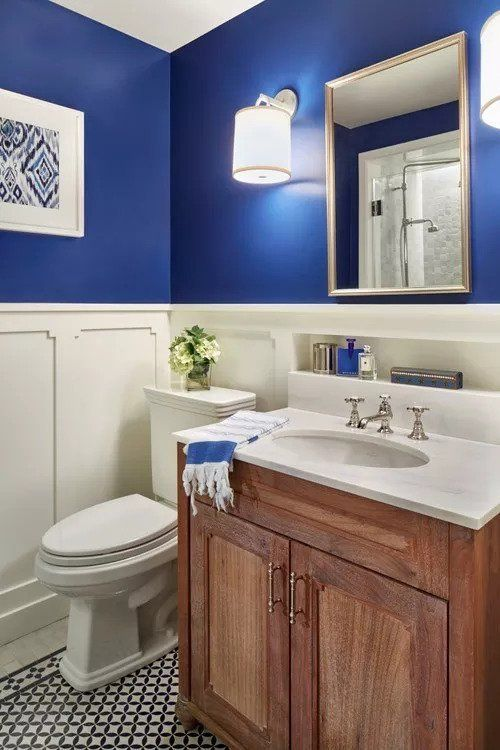 Blue Bathroom Ideas 22
