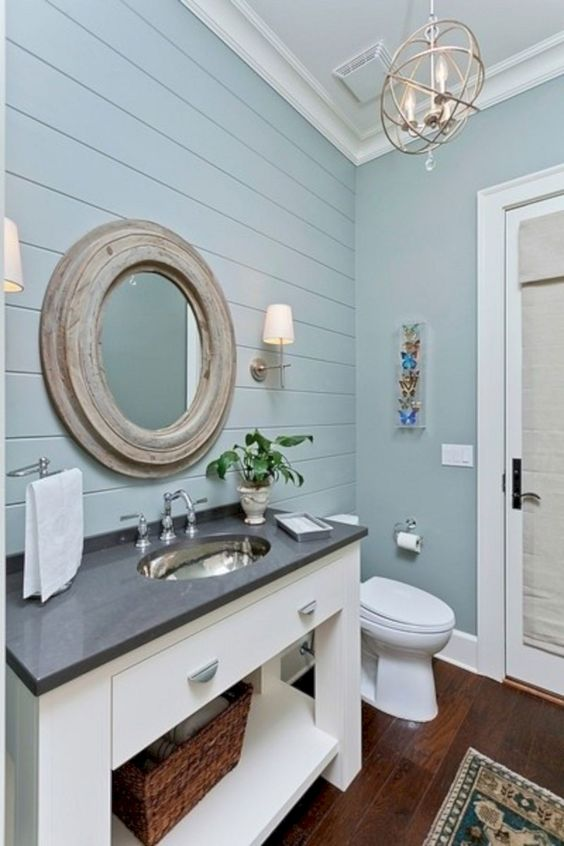 Blue Bathroom Ideas 23