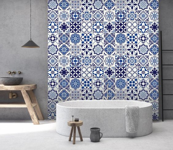 Blue Bathroom Ideas 24