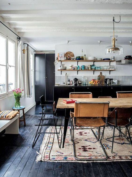 Bohemian Dining Room Ideas 15