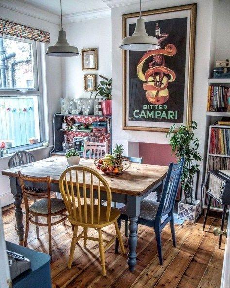 Bohemian Dining Room Ideas 17