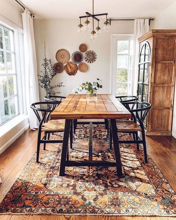 Bohemian Dining Room Ideas 22