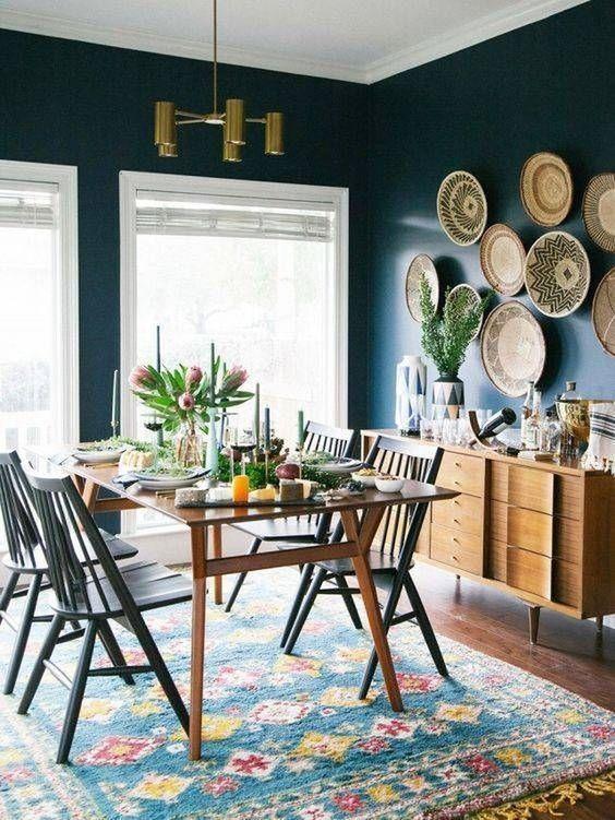 Bohemian Dining Room Ideas: Bold Stylish Decor