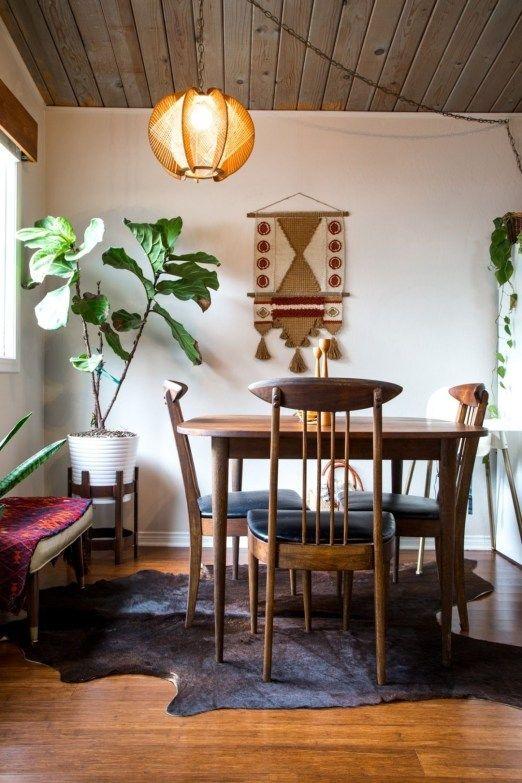 Bohemian Dining Room Ideas: Simple Cozy Decor