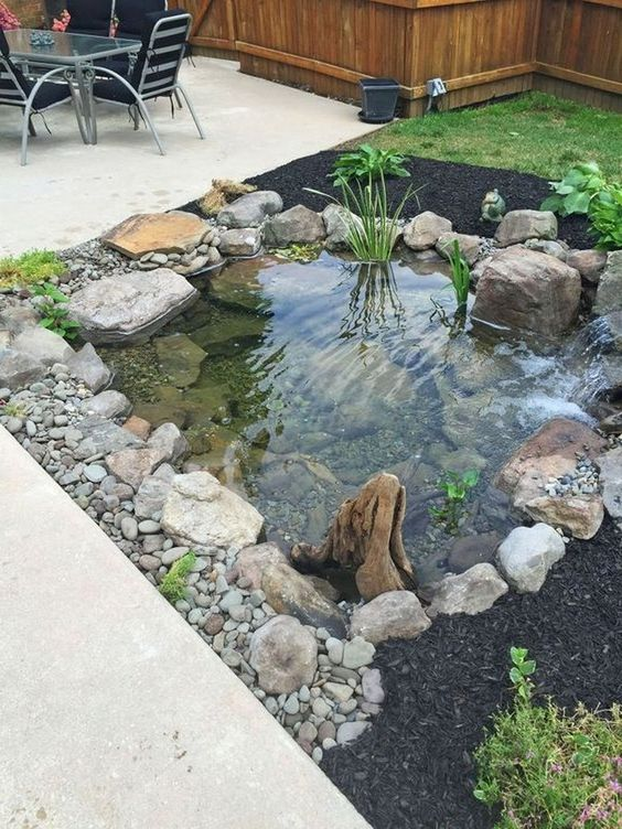 Backyard Pond Ideas: Beautiful Earthy Design