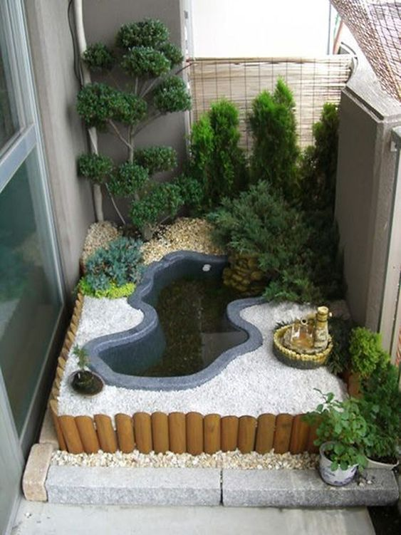 DIY Backyard Pond Ideas 13