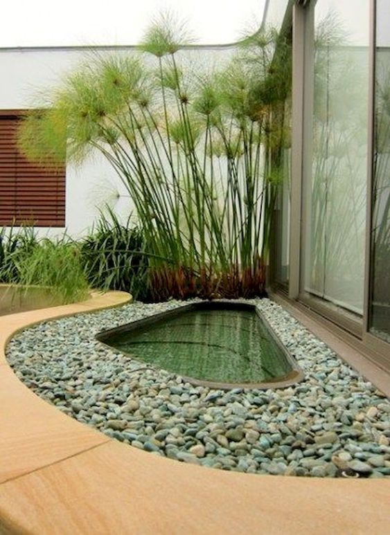 DIY Backyard Pond Ideas 14