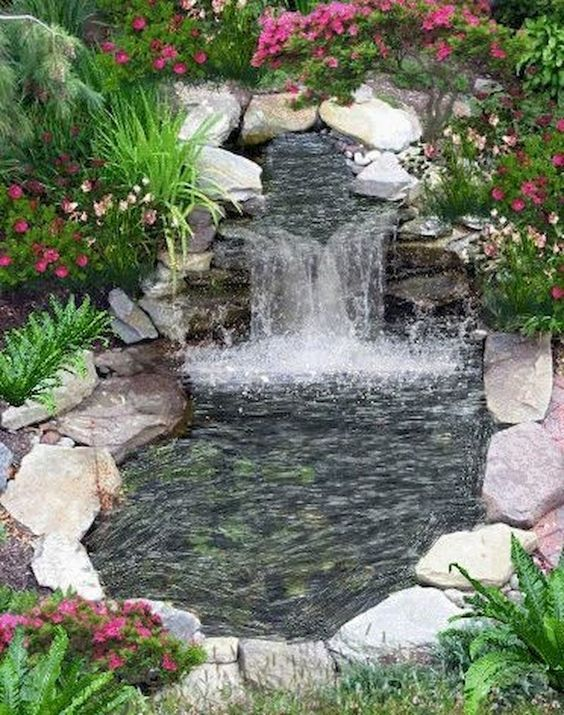 DIY Backyard Pond Ideas 16