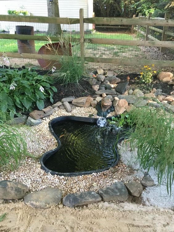 DIY Backyard Pond Ideas 18