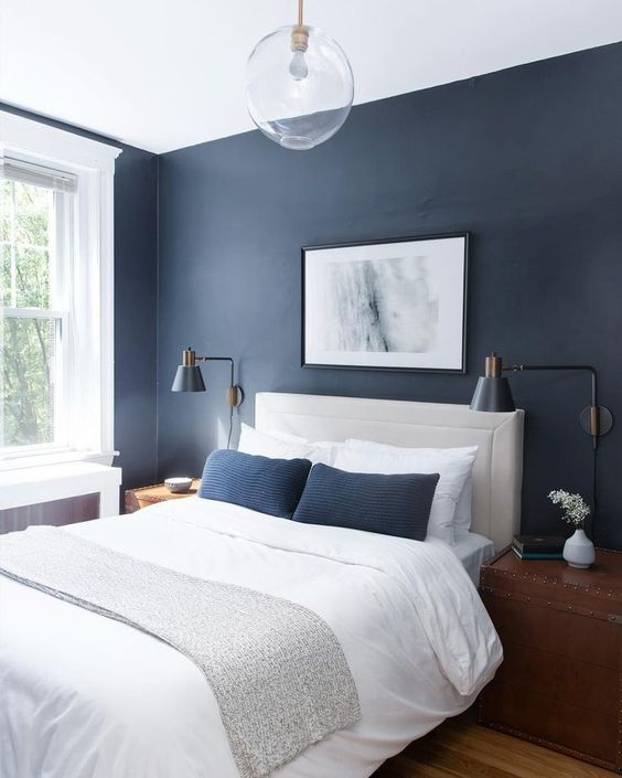 Master Bedroom Ideas: Gorgeous Blue Decor
