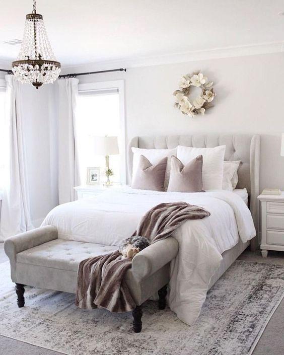 Master Bedroom Ideas: Simple Minimalist Decor