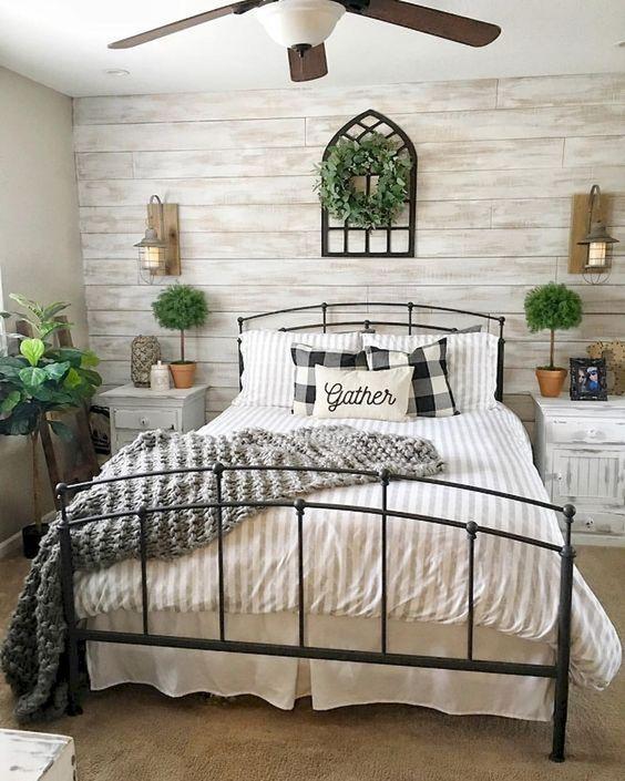 Master Bedroom Ideas: Beautiful Farmhouse Decor