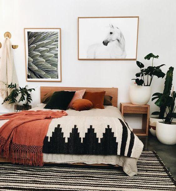 Master Bedroom Ideas: Catchy Boho Decor