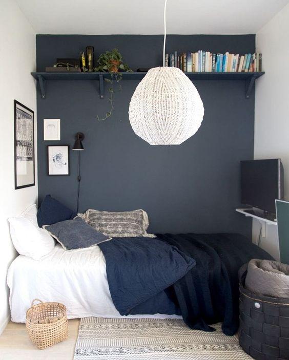 Small Bedroom Ideas: Elegant Monochrome Decor