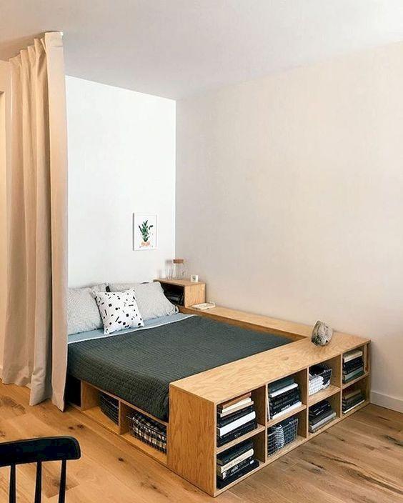 Small Bedroom Ideas: Rustic Minimalist Decor