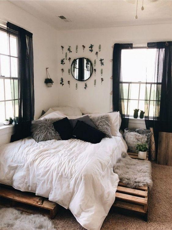 Small Bedroom Ideas: Stylish Earthy Decor