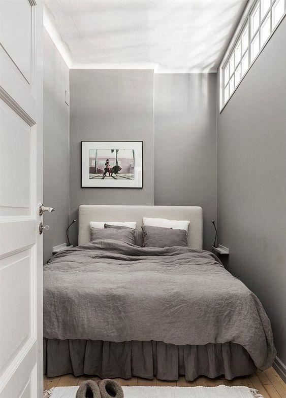 Small Bedroom Ideas: Simple Neutral Decor