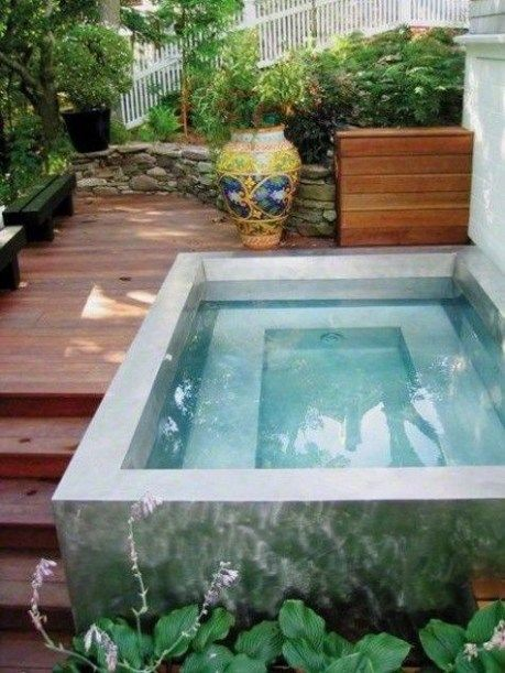 Swimming Pool Designs Ideas: Cozy Plunge Style