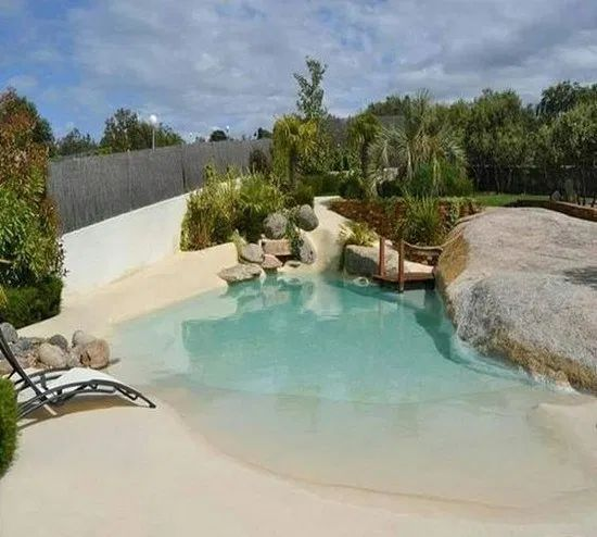 Swimming Pool Designs Ideas: Exhilarating Beach Style