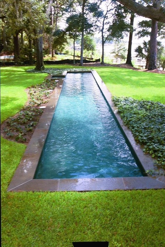 Swimming Pool Designs Ideas: Elegant Lap Style