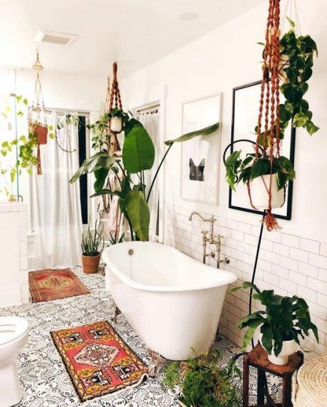 Bathroom Themes Ideas: Catchy Boho Decor