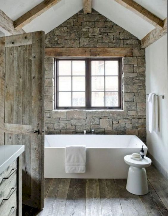 Bathroom Themes Ideas: Gorgeous Rustic Decor