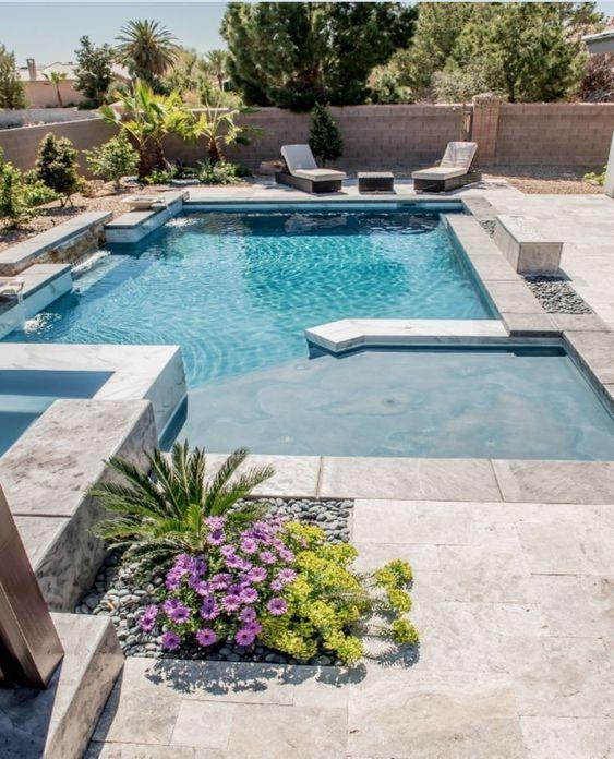 Backyard Pool Ideas: Inground Swimming Pool