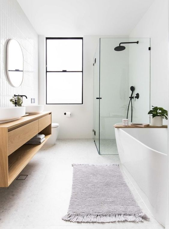 Scandinavian Bathroom Ideas 14