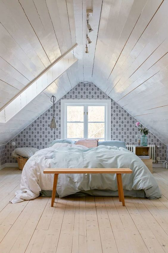 Attic Bedroom Ideas: Minimalist Beautiful Bedroom