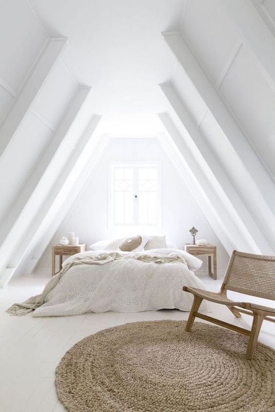 Attic Bedroom Ideas: Relaxing Scandinavian Style