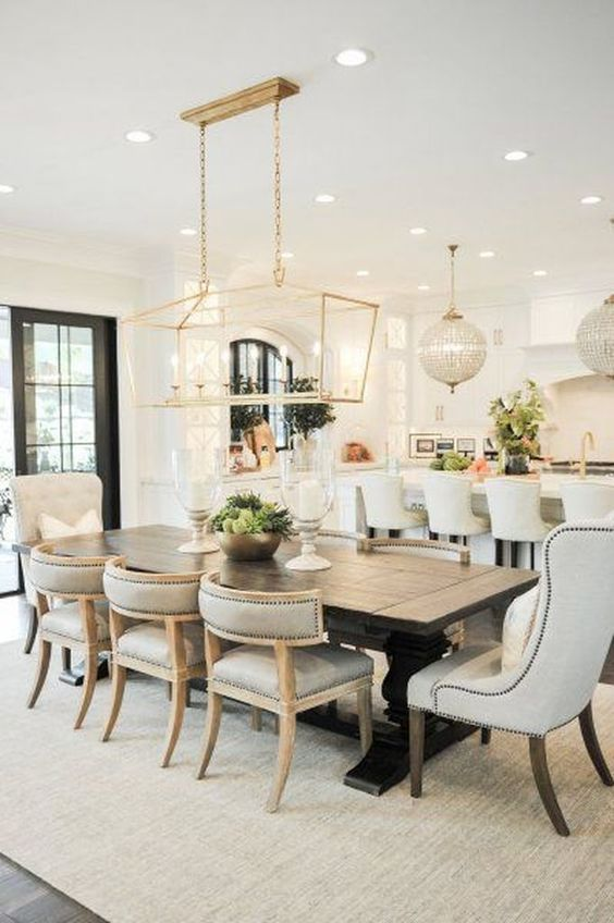 Dining Room Chandelier Ideas 11