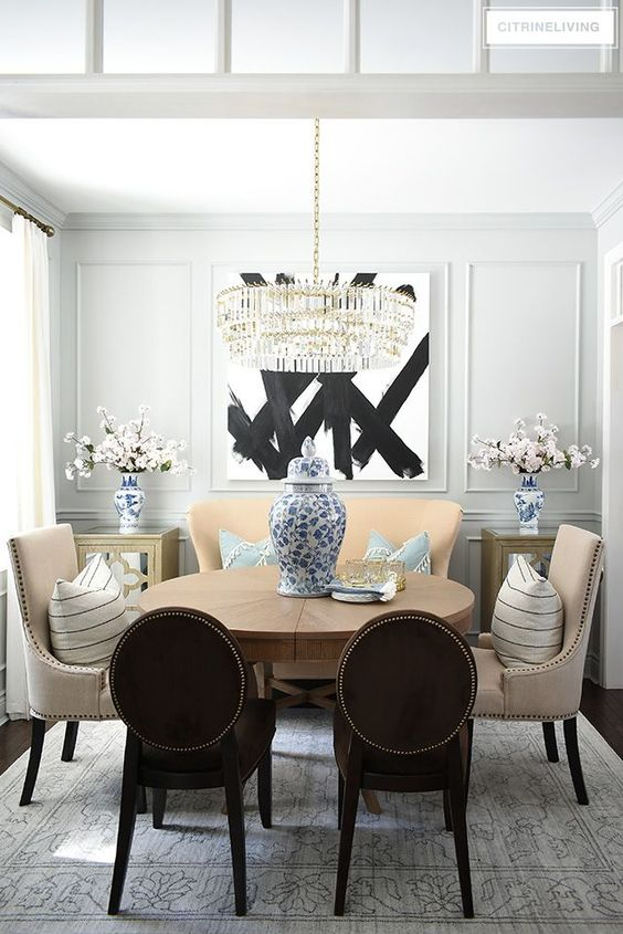 Dining Room Chandelier Ideas 14