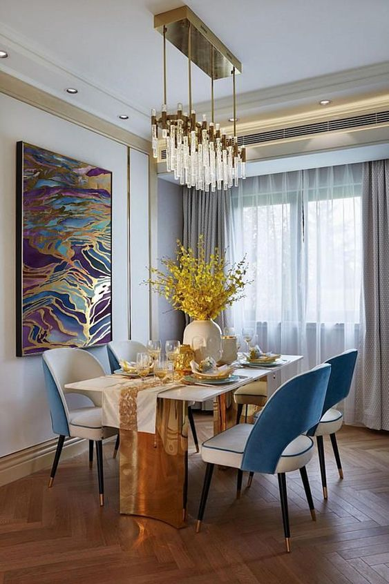 Dining Room Chandelier Ideas 15