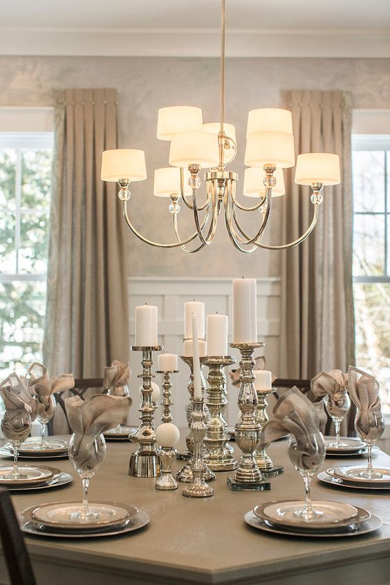 Dining Room Chandelier Ideas 22