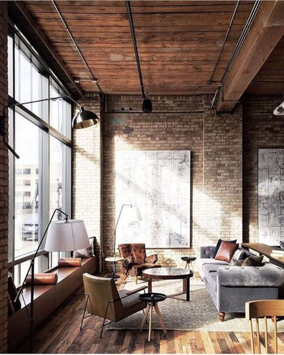 Industrial Living Room Ideas: Jaw-Dropping Raw Look