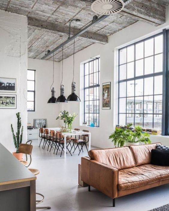 Industrial Living Room Ideas 11